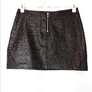 Zara W B Collection Woman's Small Black Mini Skirt